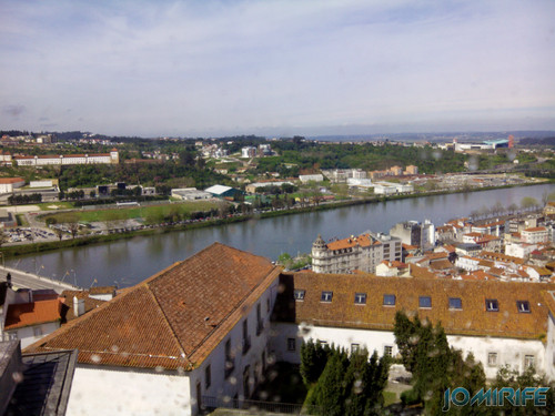 Vista de Coimbra para o Rio Mondego e Centro Comercial Forum Coimbra [en] View of Coimbra over the View of Coimbra and the Mondego River and Forum Coimbra Shopping Centre