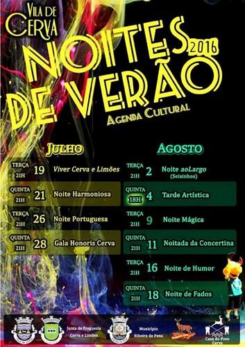 Vila de Cerva - Programa Noites de Verão 2016