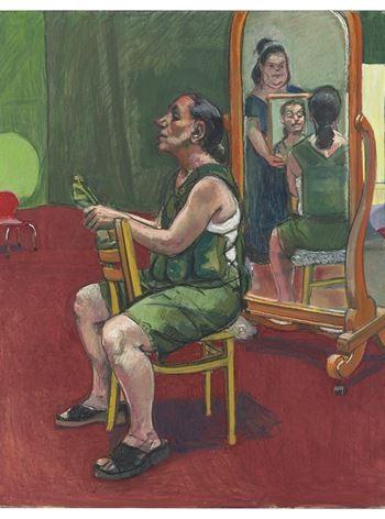 Self-portrait with Lila, Reflection and Ana.jpg