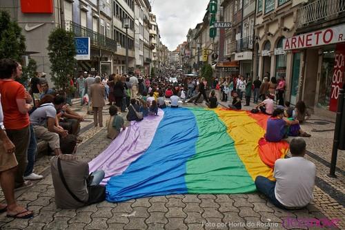 Marcha LGBT do Porto em 2011 - foto de Horta do Rosário