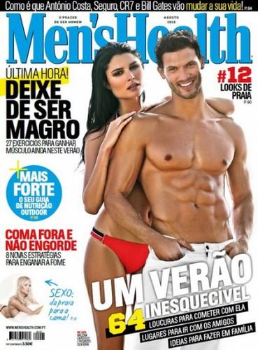 Men's Health Portugal – Nº 170 Agosto (2015).