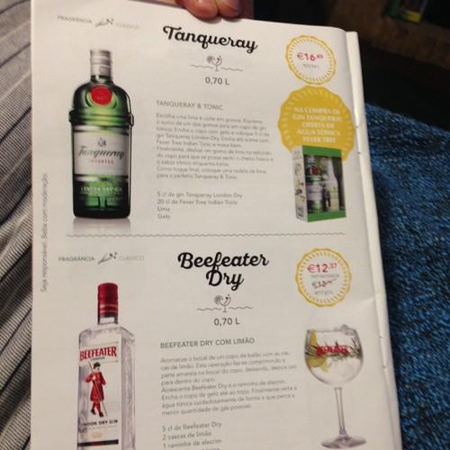 A preparar a seleção de gin para o Verão. 😎