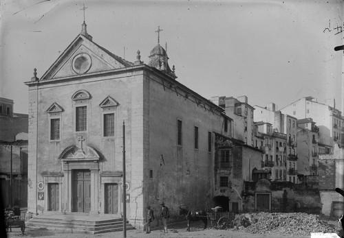 Antiga Igreja dos Anjos e antigo local do Regueir