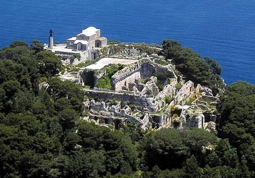 Ruínas da Villa Jovis