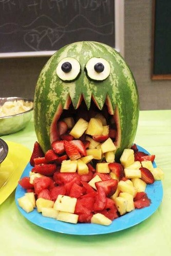 64-Non-Candy-Halloween-Snack-Ideas-monster-melon.j