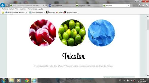 Tricolor...