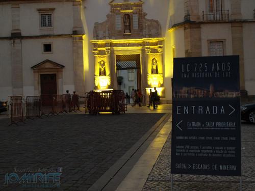 Espectáculo Video Mapping na Universidade de Coimbra UC 725 Anos - Uma História de Luz  (1)
