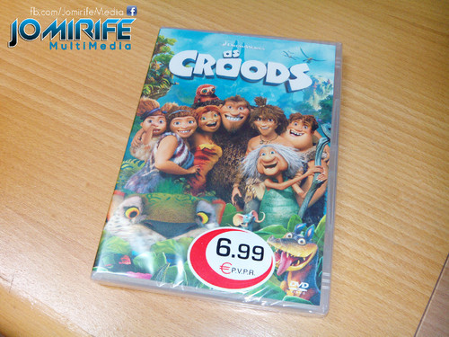 DVD do filme The Croods [en] DVD movie The Croods