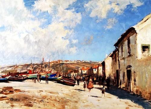 Edward Seago - Nazare, Portugal