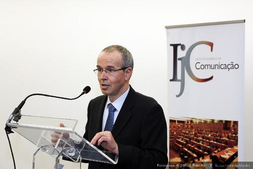 João Gabriel Silva - Magnífico Reitor da Universidade de Coimbra?. Colóquio sobre Direito e Comunicação Social - Problemas e Desafios