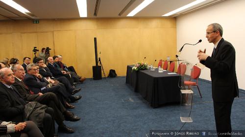 João Gabriel Silva - Magnífico Reitor da Universidade de Coimbra. Colóquio sobre Direito e Comunicação Social - Problemas e Desafios