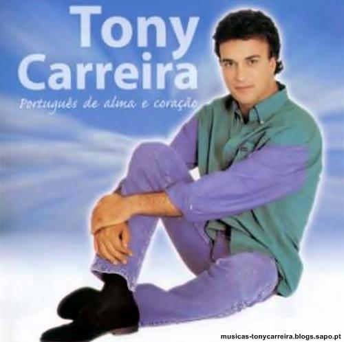 Capa do CD Português de Alma e Coração do Tony Carreira