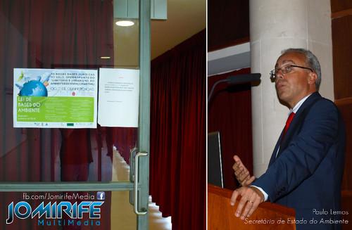 Realização audiovisual e da conferência «Lei das bases do Ambiente» com a participação de Paulo Lemos Secretário de Estado do Ambiente