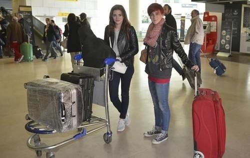 atores no aeroporto (Vidas) CM