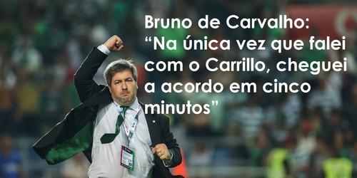 Entrevista do Presidente Bruno de Carvalho ao Observador
