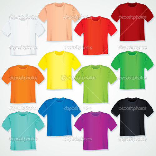 depositphotos_25269219-Colorful-Blank-T-Shirt-Coll
