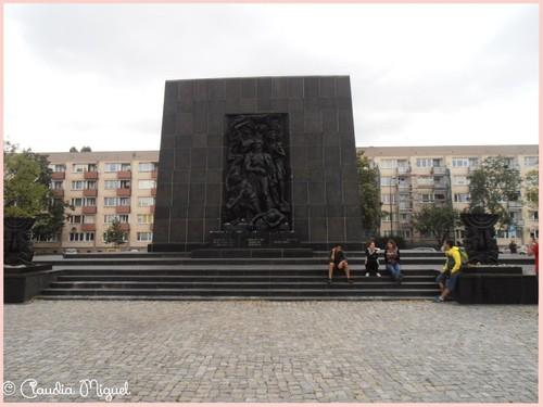 monumento de homenagem aos judeus de Varsóvia