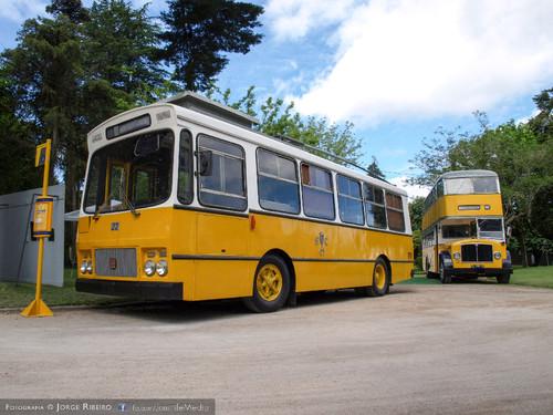 Autocarros antigos de Coimbra. Old bus of Coimbra