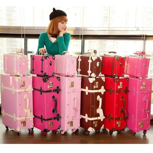 Free-shipping-universal-wheel-Vintage-suitcase-Han