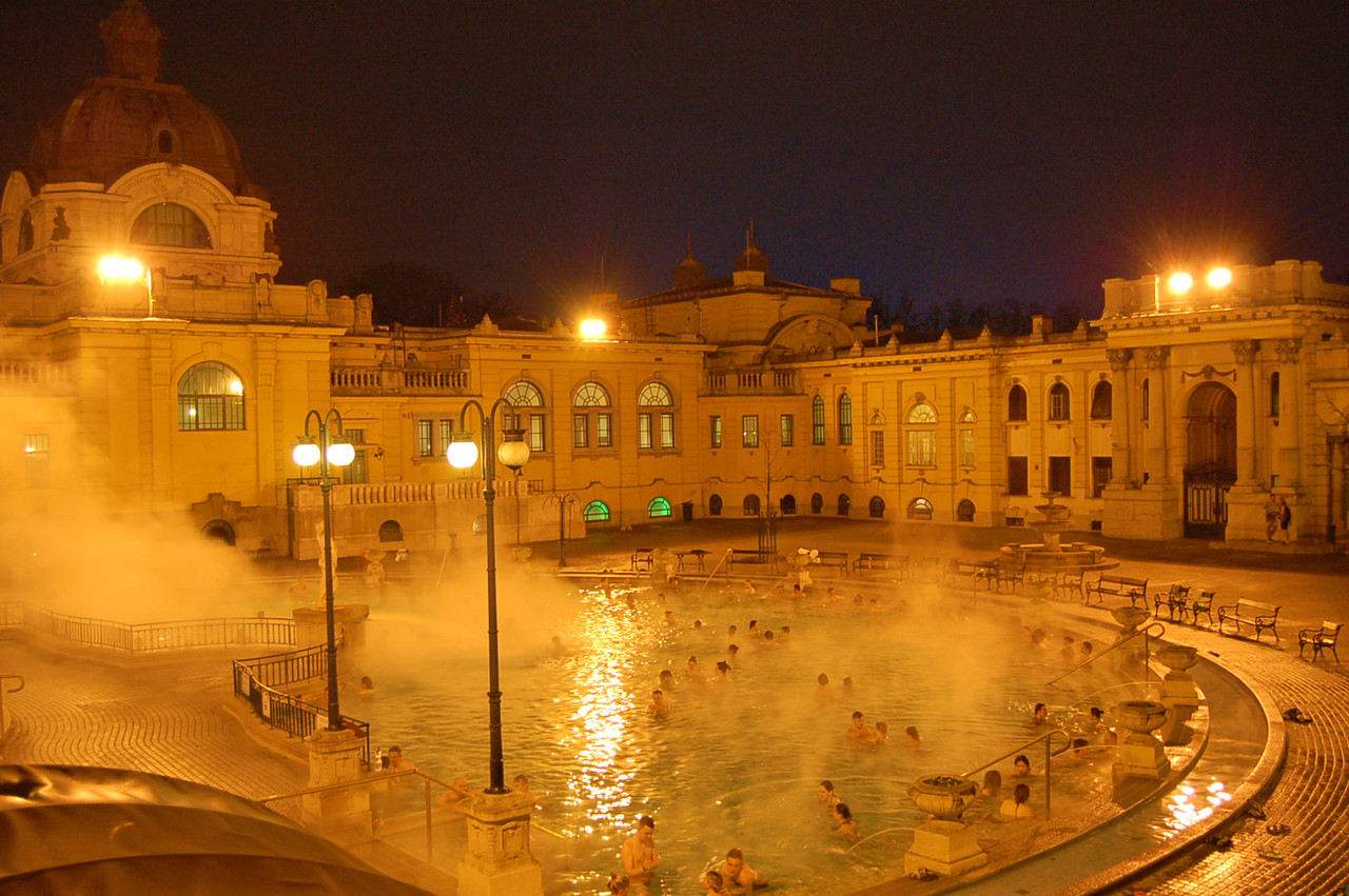 Banhos termais de Széchenyi