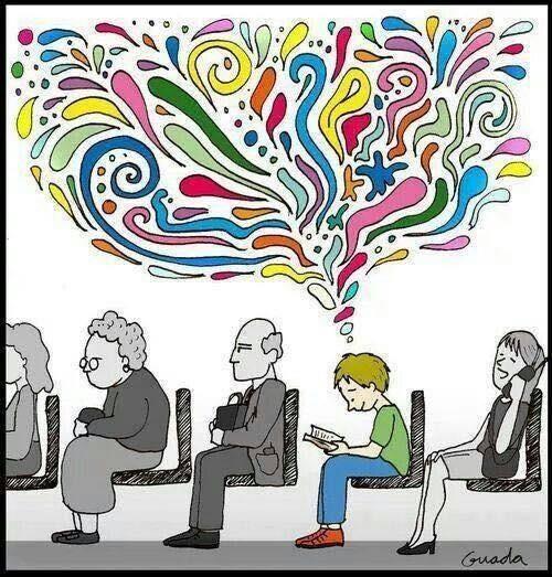 Resultado de imagem para mente e leitura