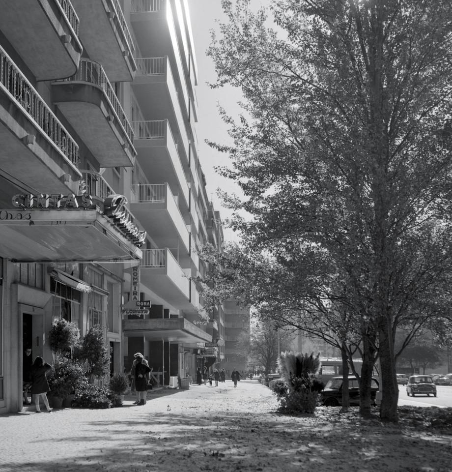 Romeira em dia de Inverno, Av. de Roma (A.Pastor, c. 196...)