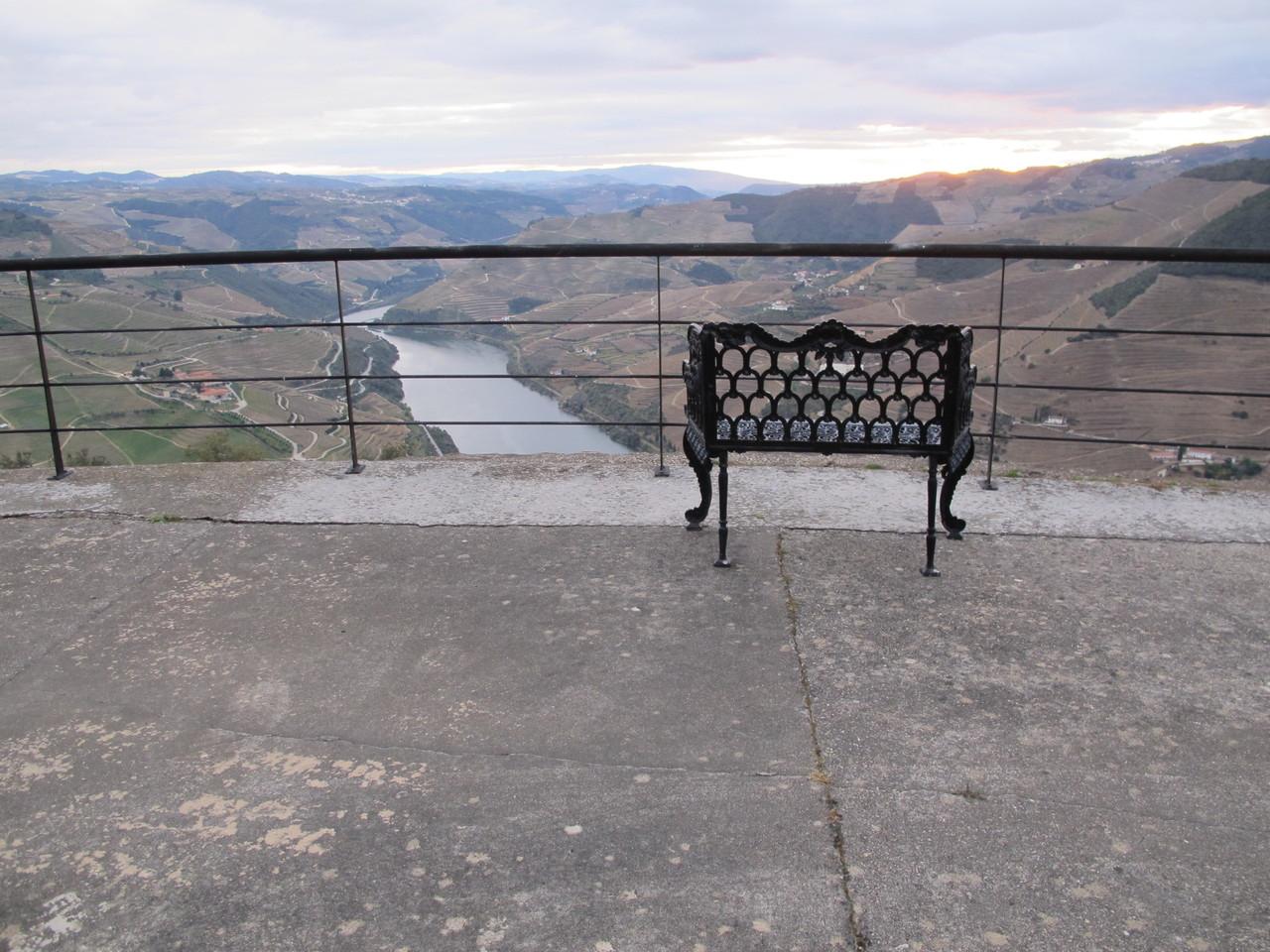 A vista da Casa Redonda