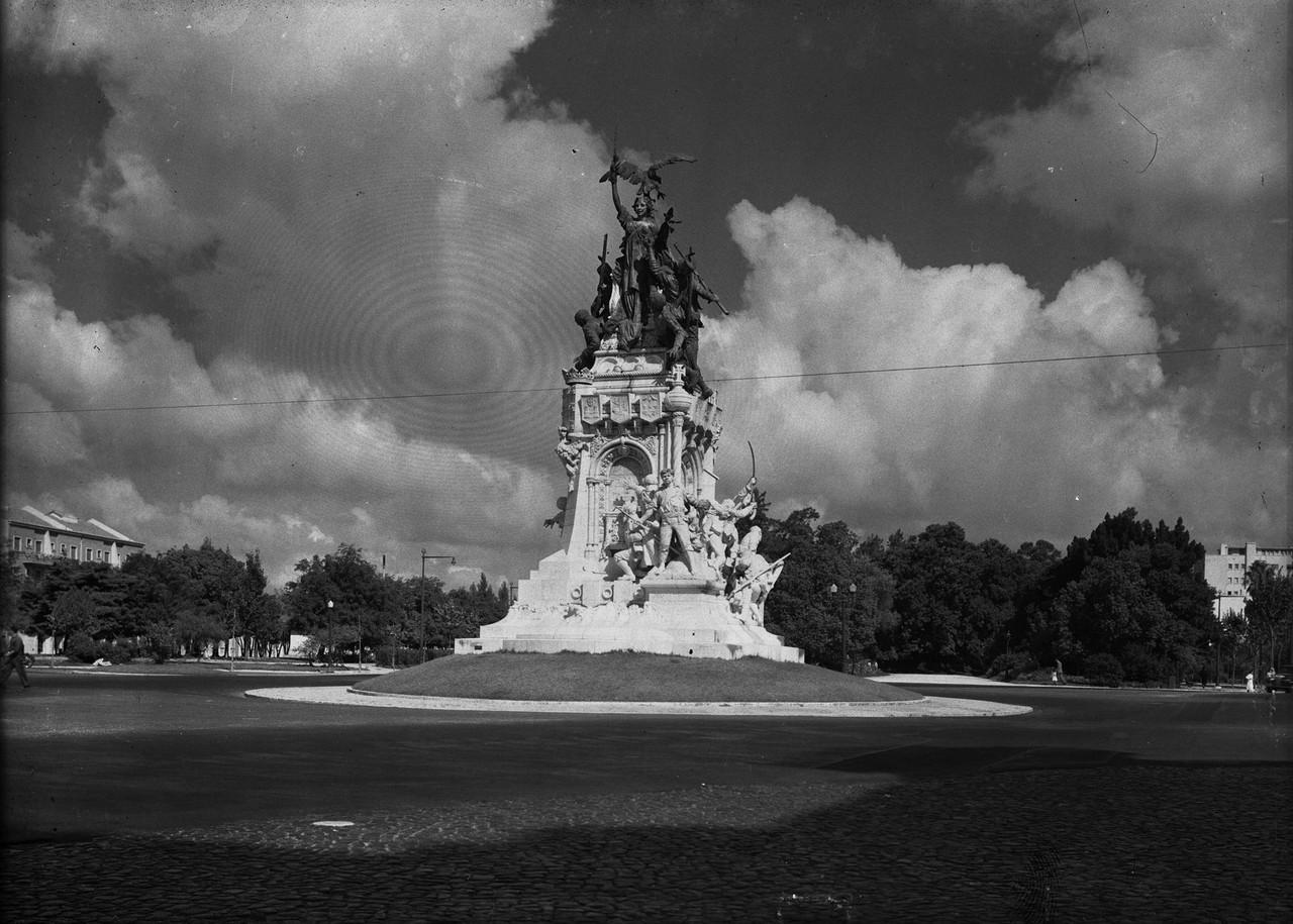 Monumento comemorativo da guerra peninsular no Cam