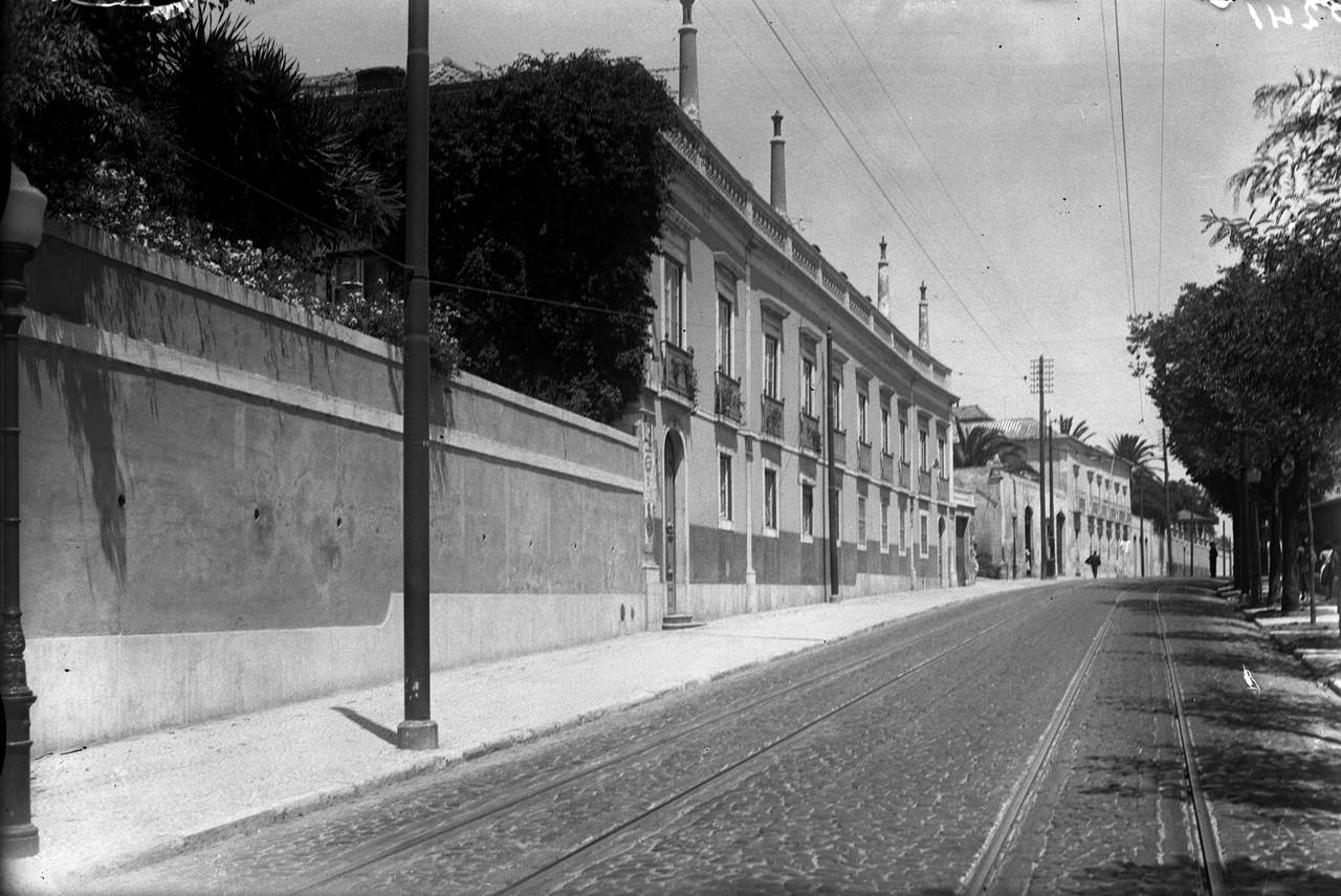 Palácios da calçada da Cruz da Pedra que pertenc