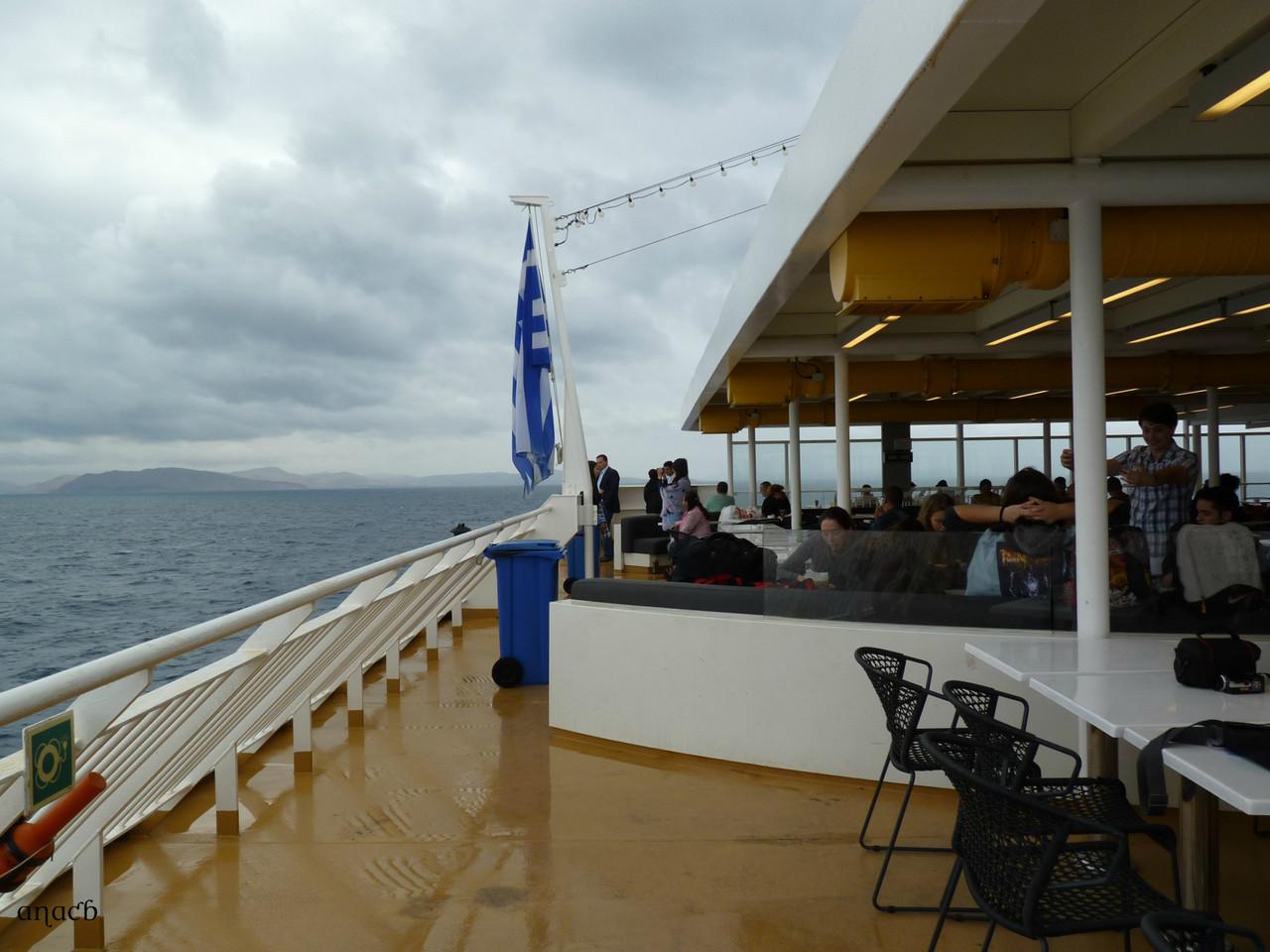 Blue Star Delos (ferry) - a caminho de Santorini (