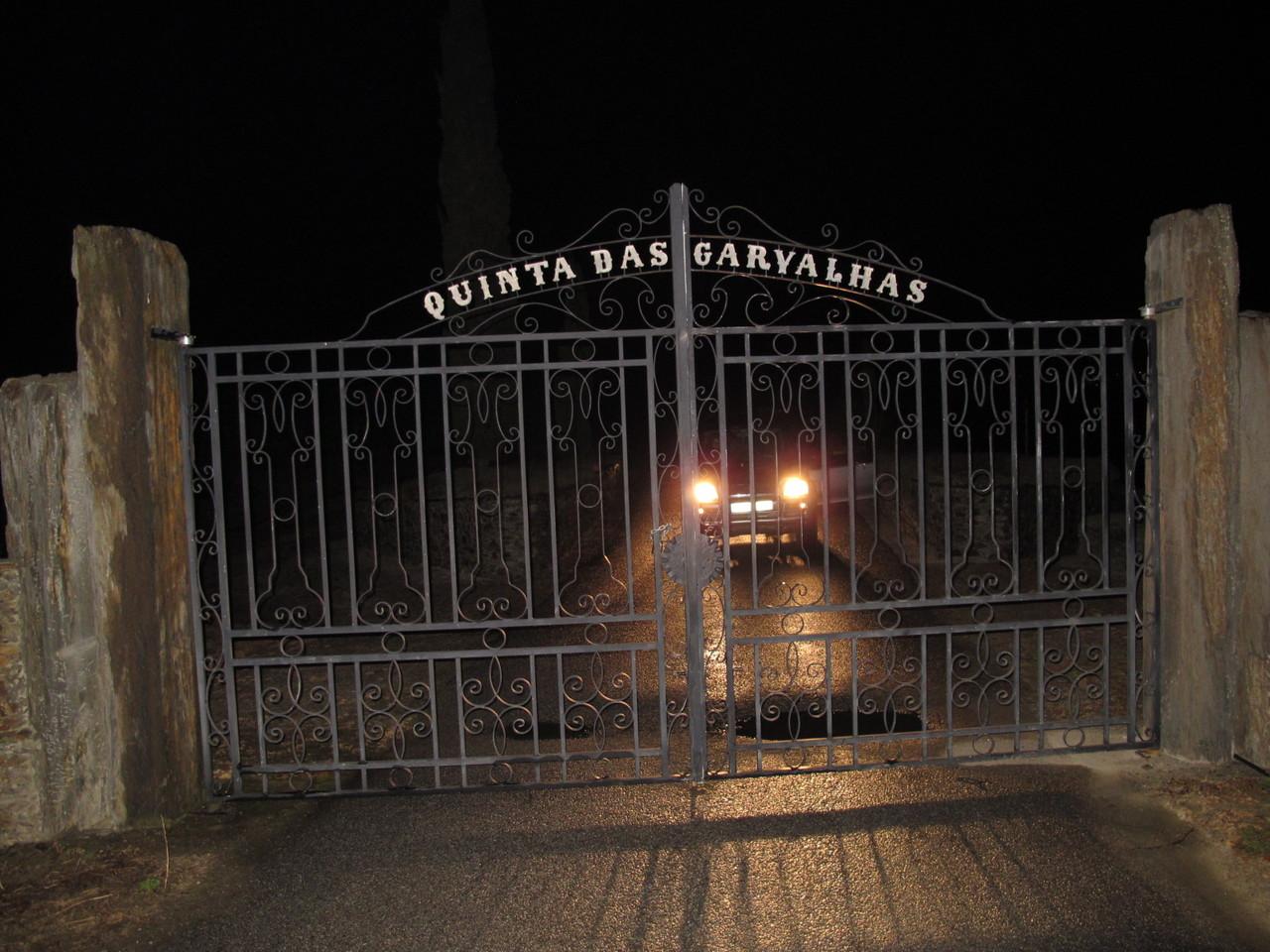A saída da Quinta das Carvalhas
