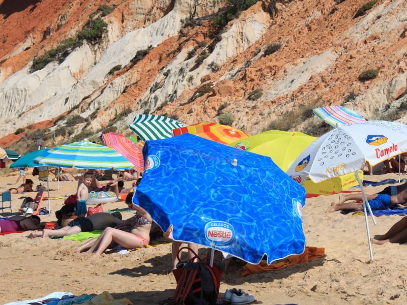 Praia da Falésia, Algarve — © 2015