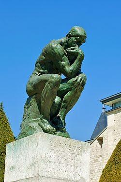 Le Penseur 1904  - Auguste Rodin - Museu - Paris.j