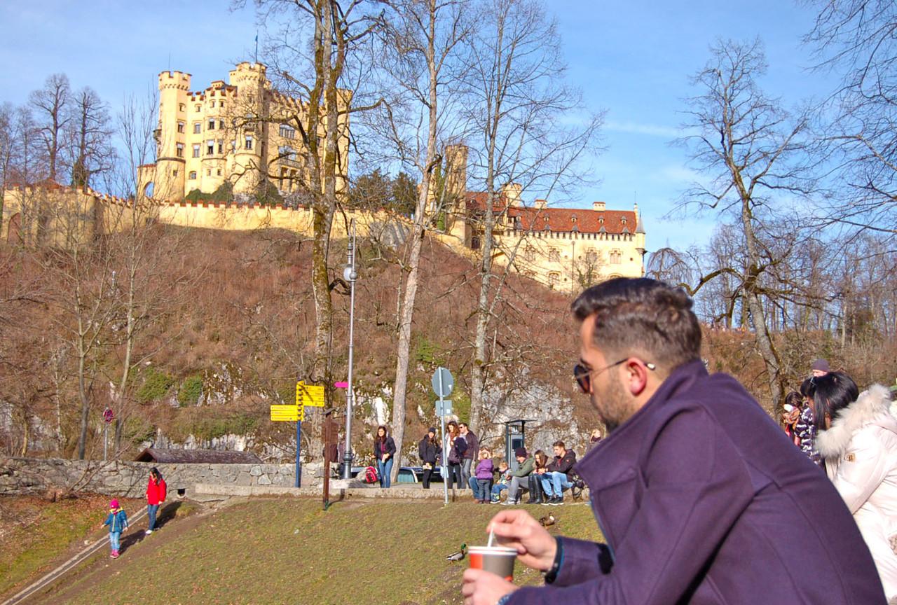 Lago do Castelo de Lago do Castelo de Neuschwastein