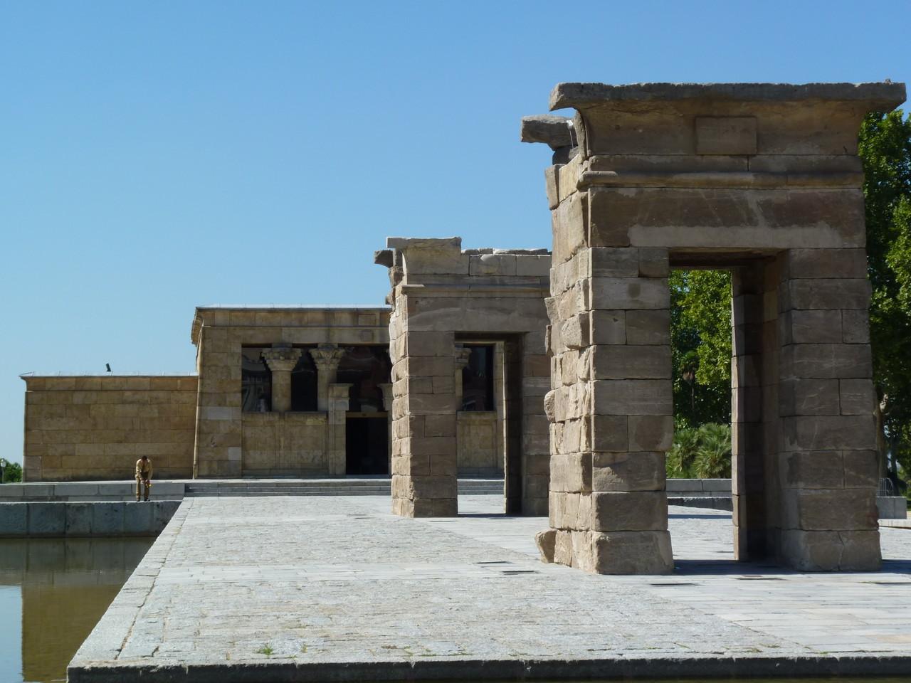 Romântica Madrid-Templo de Debod (2).JPG