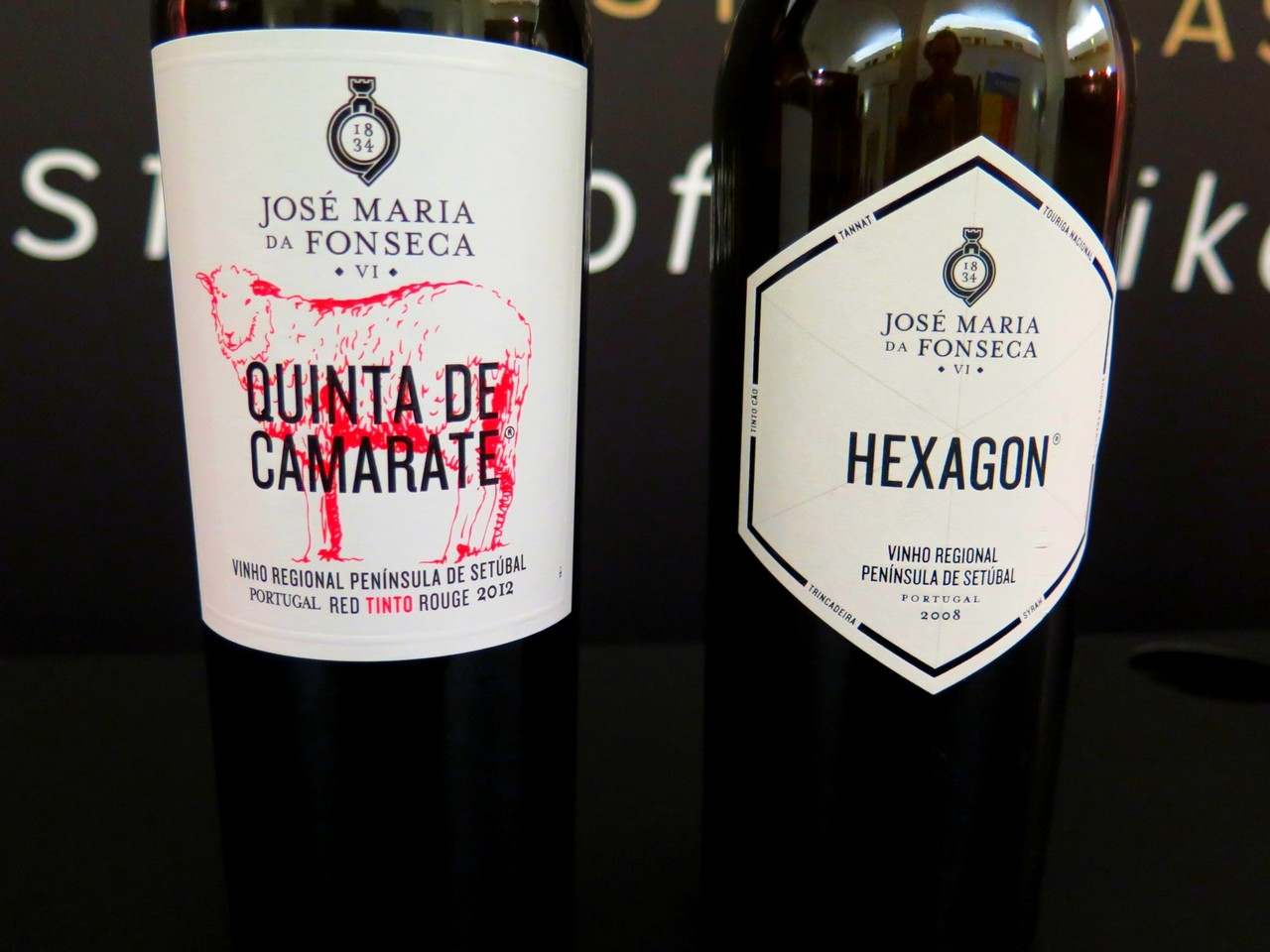 Quinta de Camarate tinto 2012 e Hexagon tinto 2008