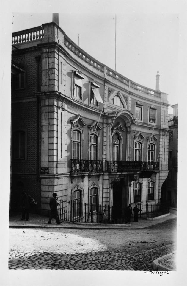 Palácio dos Marqueses de Vagos, 1944, foto de Edu