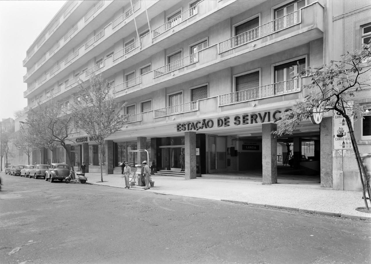 Estação de Serviços, S. Jorge de Arroios (H. Novais, 1930-80)