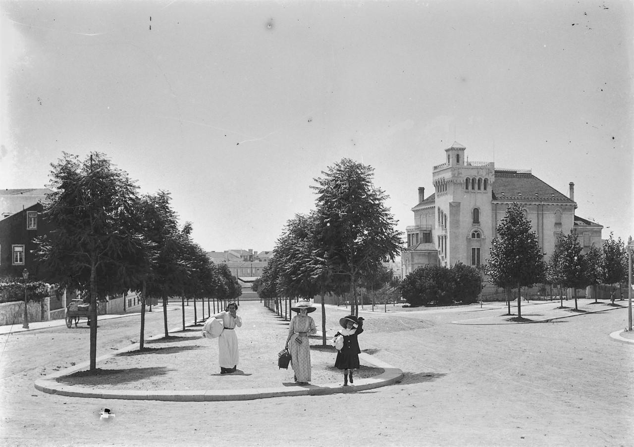 Palacete Silva Graça, Lisboa (J.Benoliel, post. 1908)
