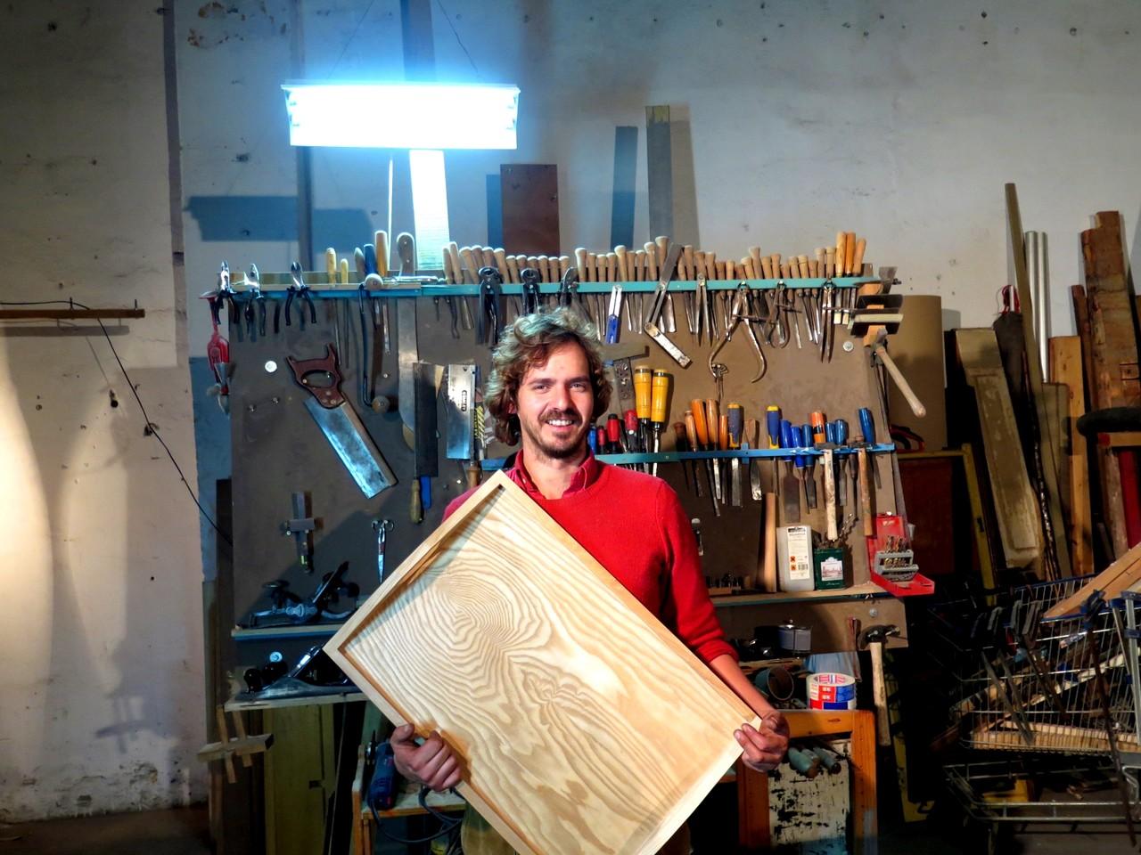 Tomás Viana e o tabuleiro