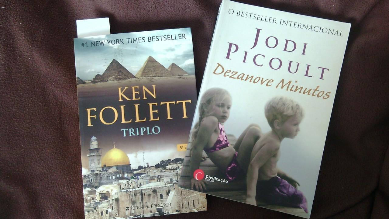Dezanove minutos (Jodi Picoult) e Triplo (Ken Foll