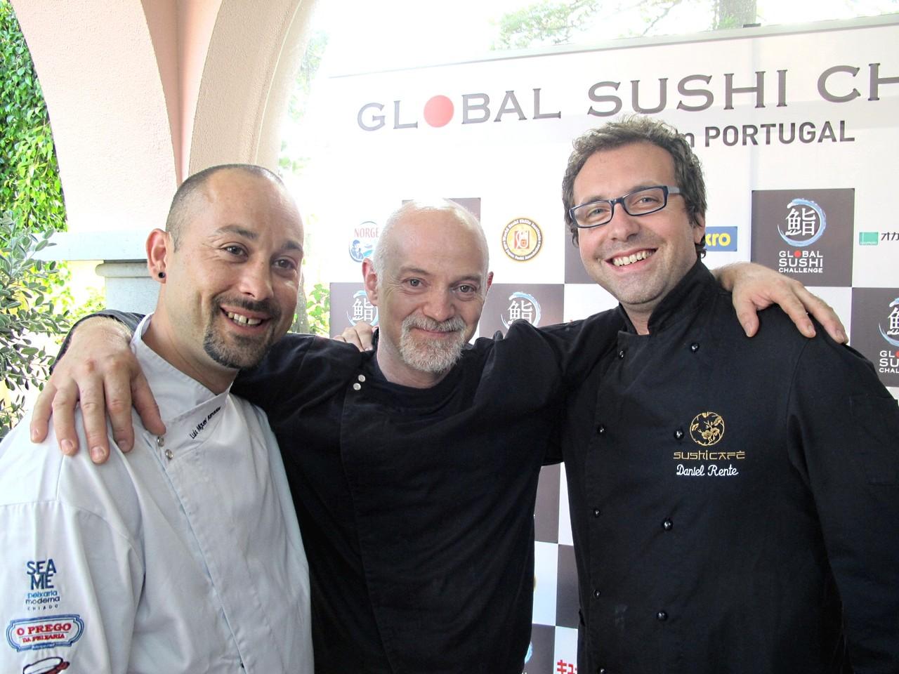 Luís Barradas, Paulo Morais, Daniel Rente