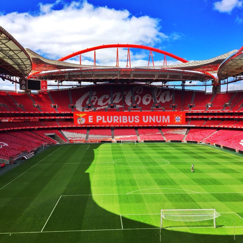 Tudo pronto na luz red pass for Piso 0 estadio da luz