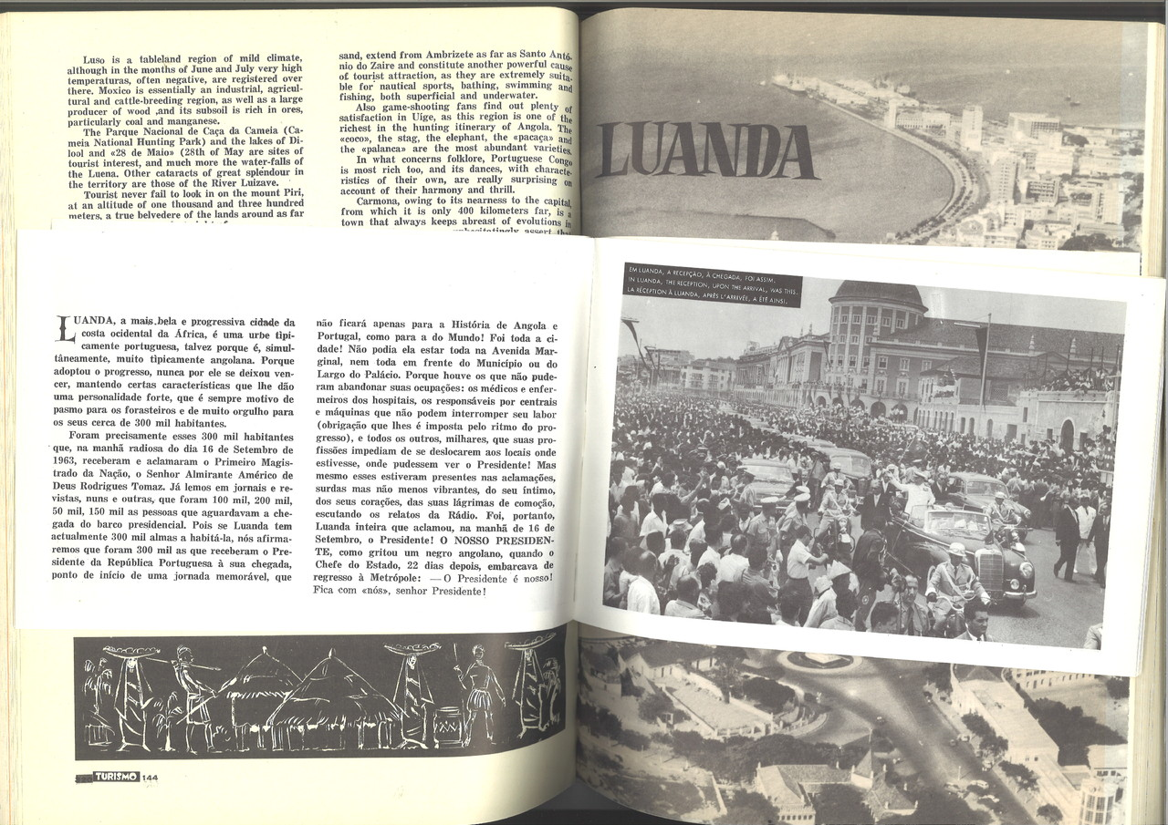 Duarte Bandeira, Gentil Marques. «Revista Turismo», n.º 7/8, 1964