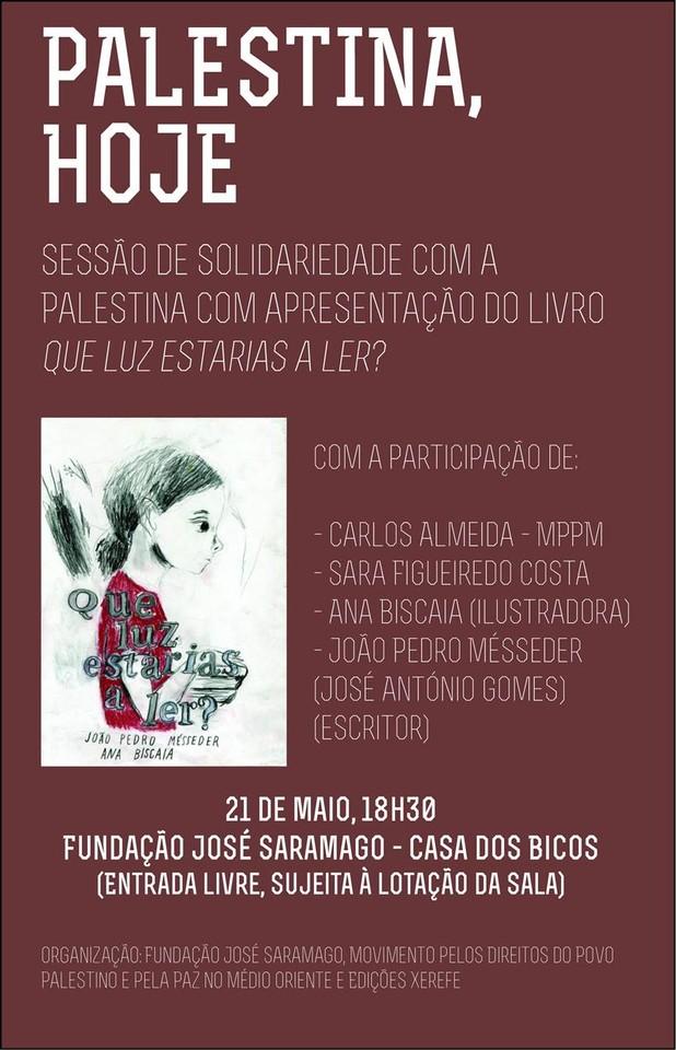 Cartaz Sessão Fundação Saramago