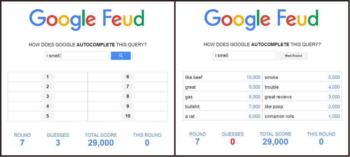 Google Feud - Jogo sugerido por Maria das Palavras