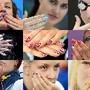 Atletas enfeitam as unhas para os Jogos