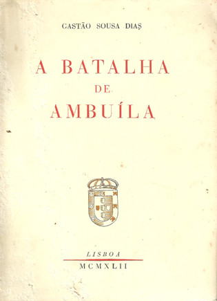 """Livro """"A Batalha de Ambuíla"""""""