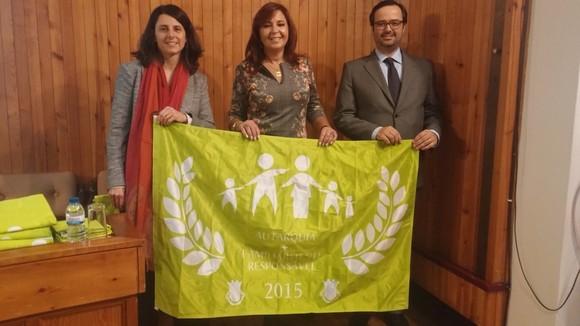 Entrega da bandeira em Coimbra 2015
