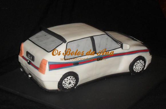 Bolo 3D Replica Lancia Delta Integrale